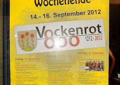 800 Jahrfeier in Wertheim-Vockenrot 2012