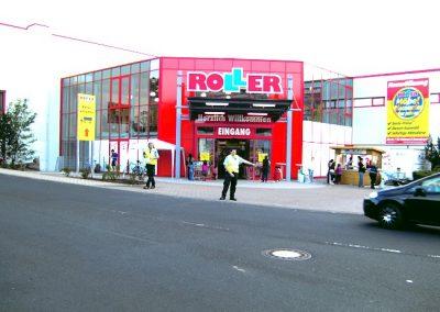 100. Roller Markt Eröffnung 2011 in Wertheim-Bestenheid