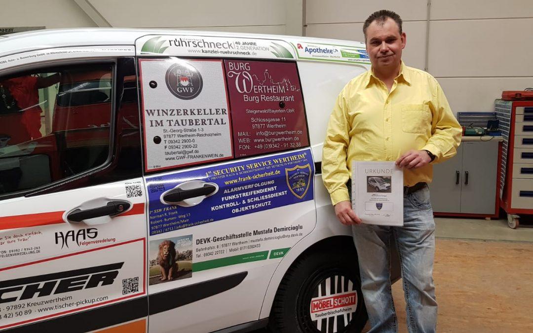 Sponsoring Sozialfahrzeug